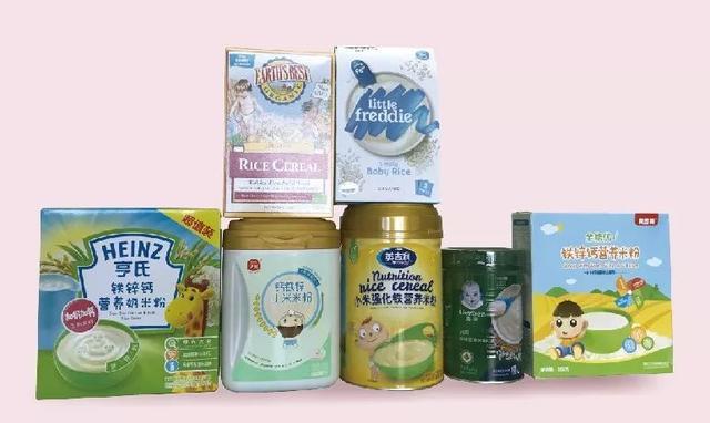 """对7种国产""""高铁""""婴儿米粉的评价:3种含糖量较高,1种含钠量比标签高26倍"""