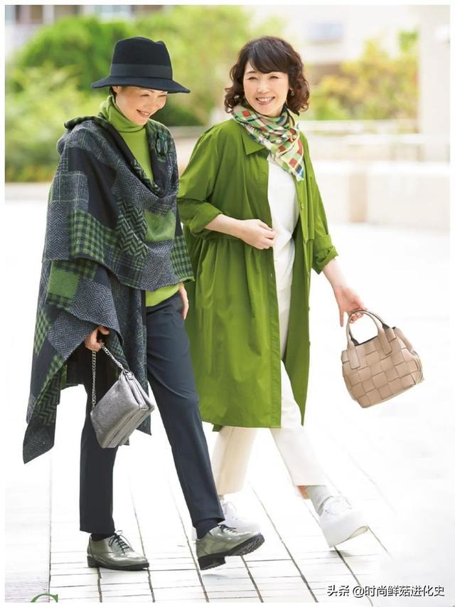 建议60岁以上的女性少穿紧身裤!看看日本的家庭主妇。它们既时尚又省时